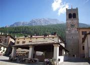 Bormio nell'Alta Valtellina è meta turistica durante tutto l'anno - Bormio