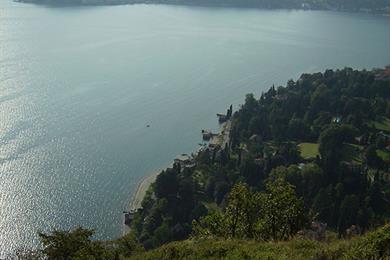 View from the Sasso di San Martino