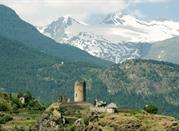 Vacaciones en el campo en Valle D'Aosta: colinas y pueblos -
