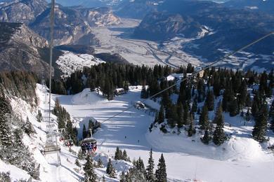Sciare a Fai della Paganella!