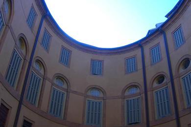Rotonda Foschini vista dal basso