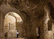 Cripta S.Restituta (XIII Sec) Simulacro Altare - Cagliari
