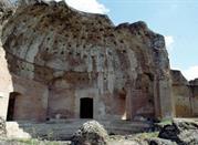 Villa Adriana: Terme con Heliocaminus - Tivoli