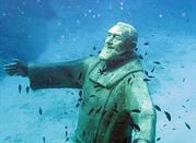 Statua di Padre Pio - Isole Tremiti