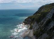 Spiaggia Sentiero per la Scalaccia - Ancona