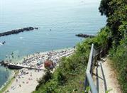 Spiaggia del Passetto Sentiero - Ancona