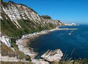 Spiaggia Sentiero per la Grotta Azzurra - Ancona
