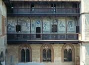 Casa Cavassa - Loggiato con affreschi Fatiche di Ercole - Saluzzo