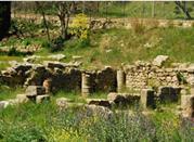 Mura di Morgantina ruderi - Aidone