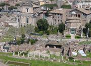 Foro Romano: Portico Medioevale - Roma