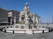 Fontana dei Quattro Continenti - Trieste