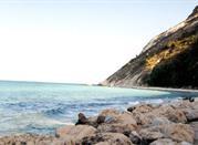 Spiaggia della Vela - Portonovo Ancona