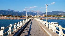 Il pontile di Forte dei Marmi
