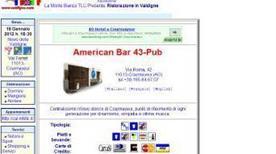 American Bar 43 - Pub - >Courmayeur