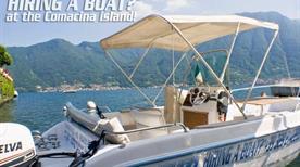 Accadueo S.r.l. - HIRING A BOAT? At the Comacina Island!