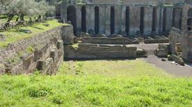 Villa Adriana: Pretorio - >Tivoli