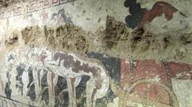 La tomba della quadriga infernale - >Sarteano