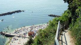 Spiaggia del Passetto Sentiero - >Ancona