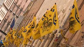 Contrada dell'Aquila - >Sienne