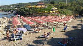 Parco Marina del Boccale - spiaggia attrezzata - >Livorno