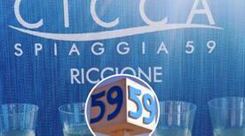 Spiaggia 59 - Bagni Cicca - >Riccione